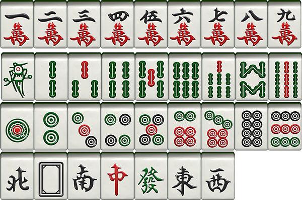 八条麻将图片_初学者怎样打麻将?详细麻将规则是什么? - 麻将 - 游戏茶苑